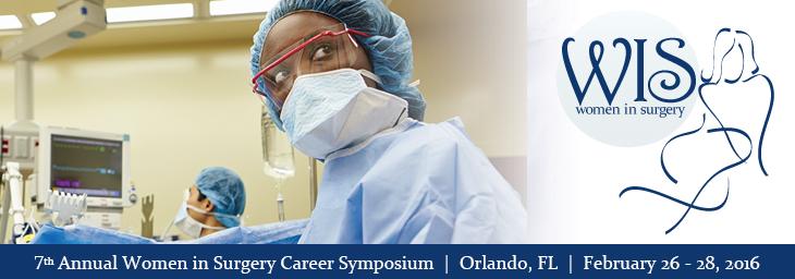 Women in Surgery Agenda